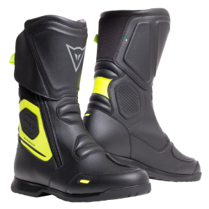 X-Tourer D-WP Black:FluoYellow