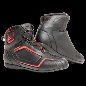 Raptors D-WP Black:Black:FluoRed