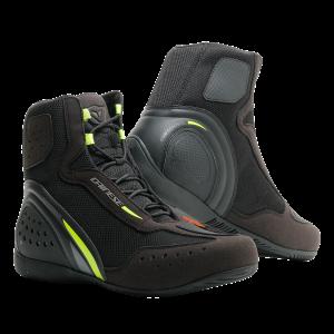 Motorshoe D1 D-WP Black:FluoYellow:Anthracite