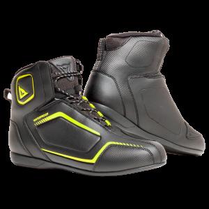 Raptors D-WP Black:Black:FluoYellow